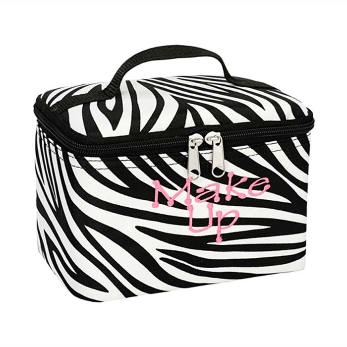 Zebra print top handle square...