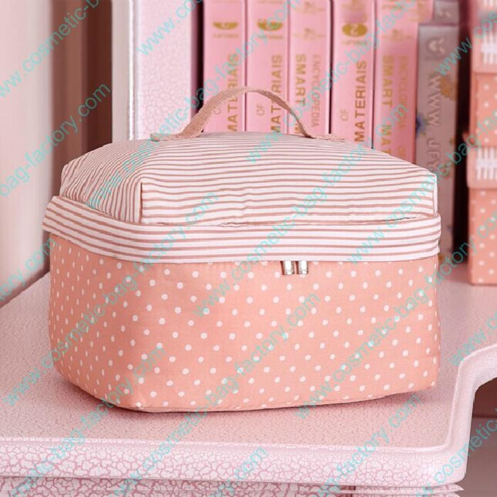 hotsale pretty pink korean makeup bag pattern