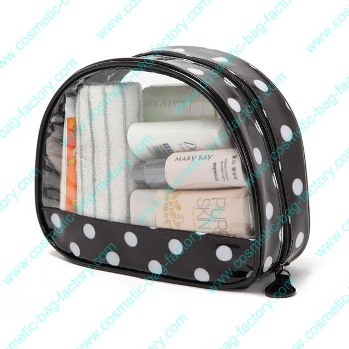 Pokla Dots Transparent Clear Makeup organizer Bulk
