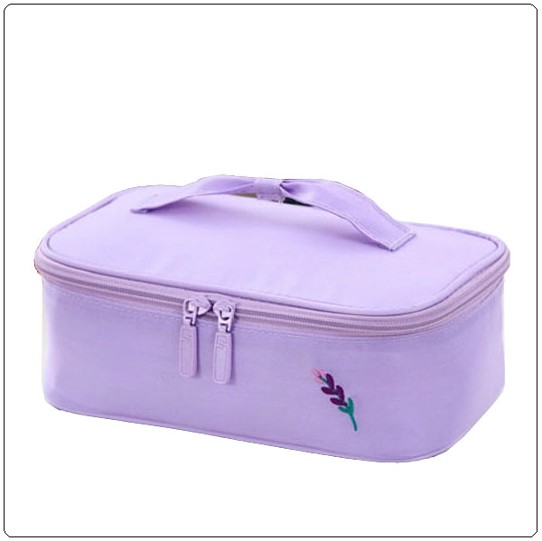 600D polyester makeup bag