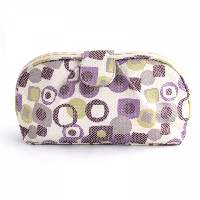 oem custom fashion women makeup cosmetic bag promotion