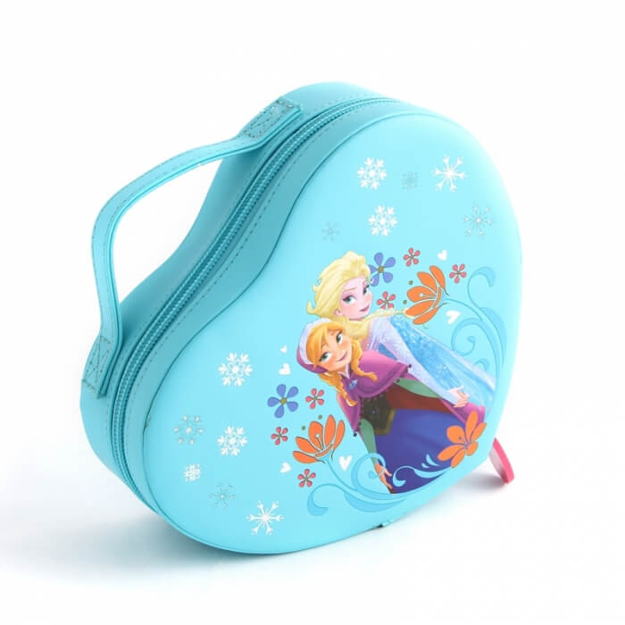 Disney frozen mini heart-shaped makeup box with zipper FY-CB-121302