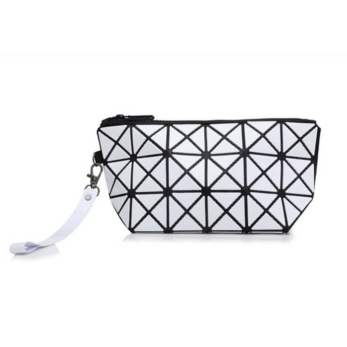 PU leather geometric shapes...