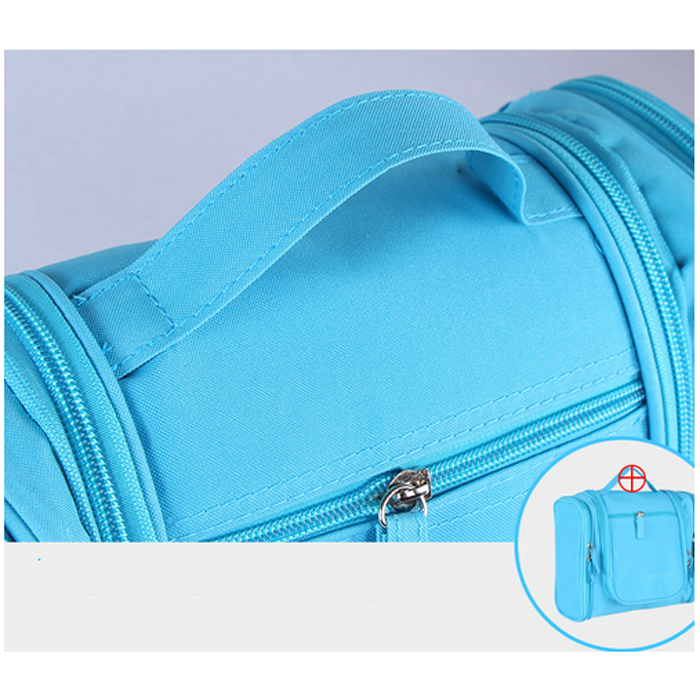 polyester toiletry bag for women