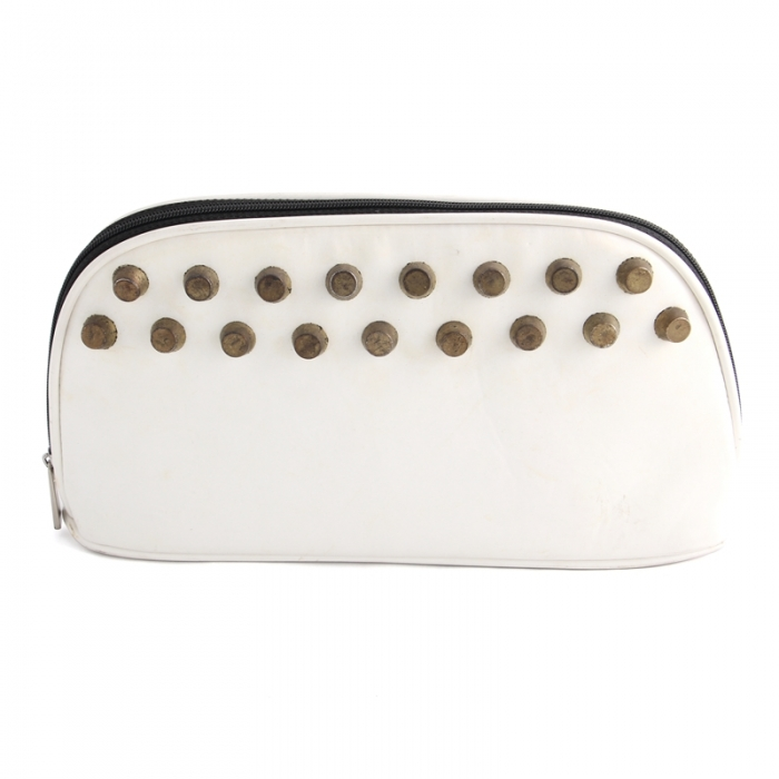 Fashion Design High Quality Travel Cosmetic Bag with Rivet